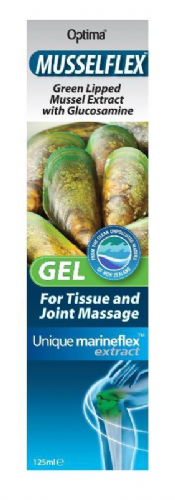 Our Best Selling Pain Relieving Gel - Musselflex 125ml - Normally £8.95